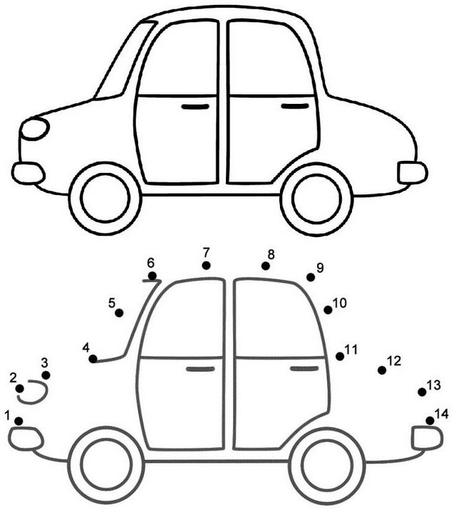 Best Car Connect the Dots