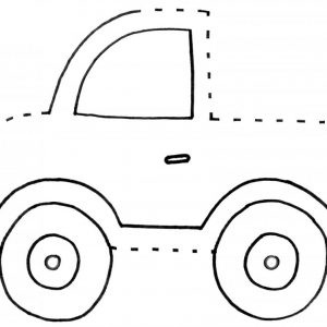 Simple and Easy Car Connect the Dots