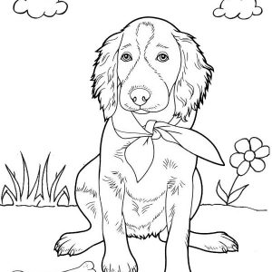 best droopy dog coloring page