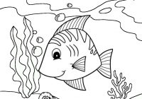Beautiful Ocean Fish Coloring Pages