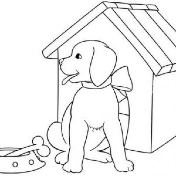 Permalink to 11 Cute Dogs and Puppies Coloring Pages