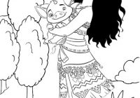 Disney Princess Moana Coloring Page