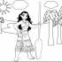 9 Magnificent Moana Coloring Pages for Your Daughter